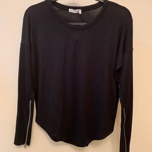 Hudson L/S With Zipper Sleeve xs